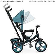 Триколісний велосипед TURBOTRIKE M 3113-21L якісна бюджетна модель, фото 3