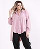 Льняная рубашка большого размера, с 42 по 74 размер