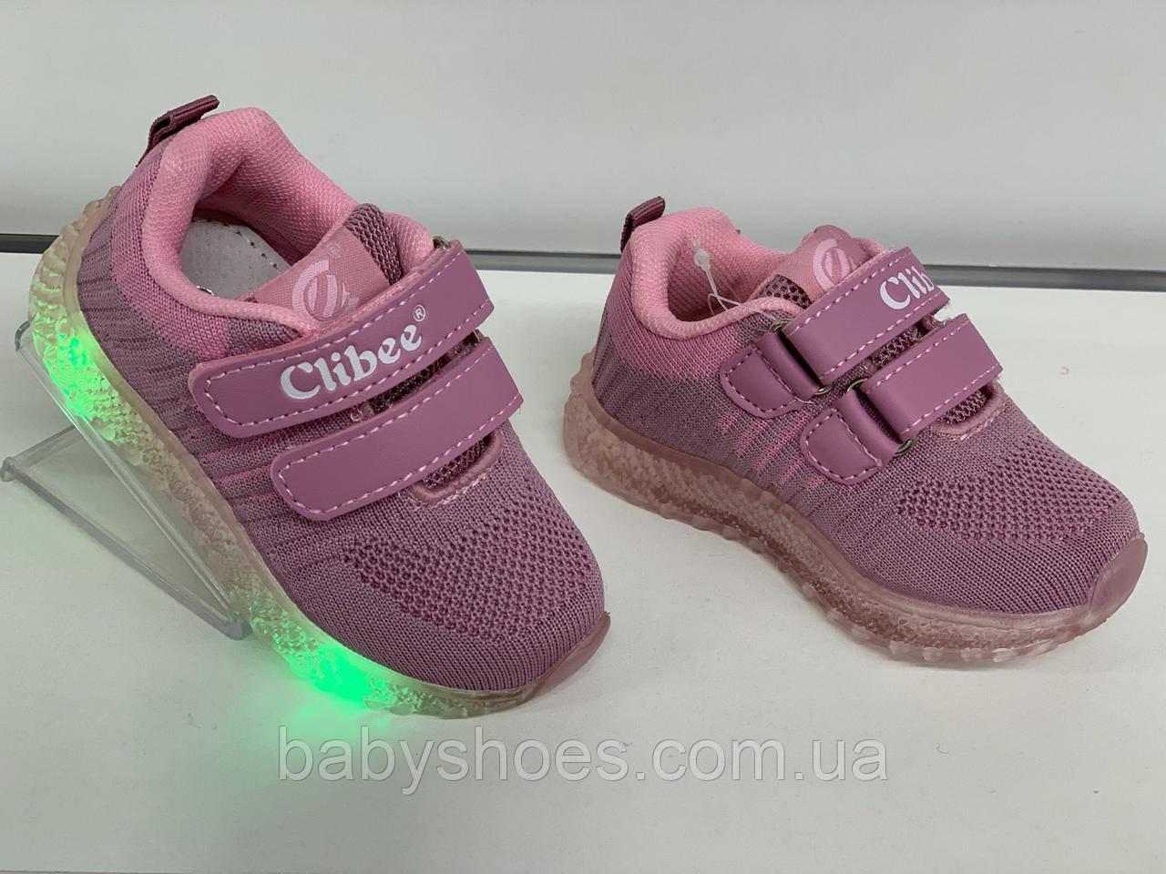 Кроссовки для девочки Clibee Польша р. 21-26 КД-518