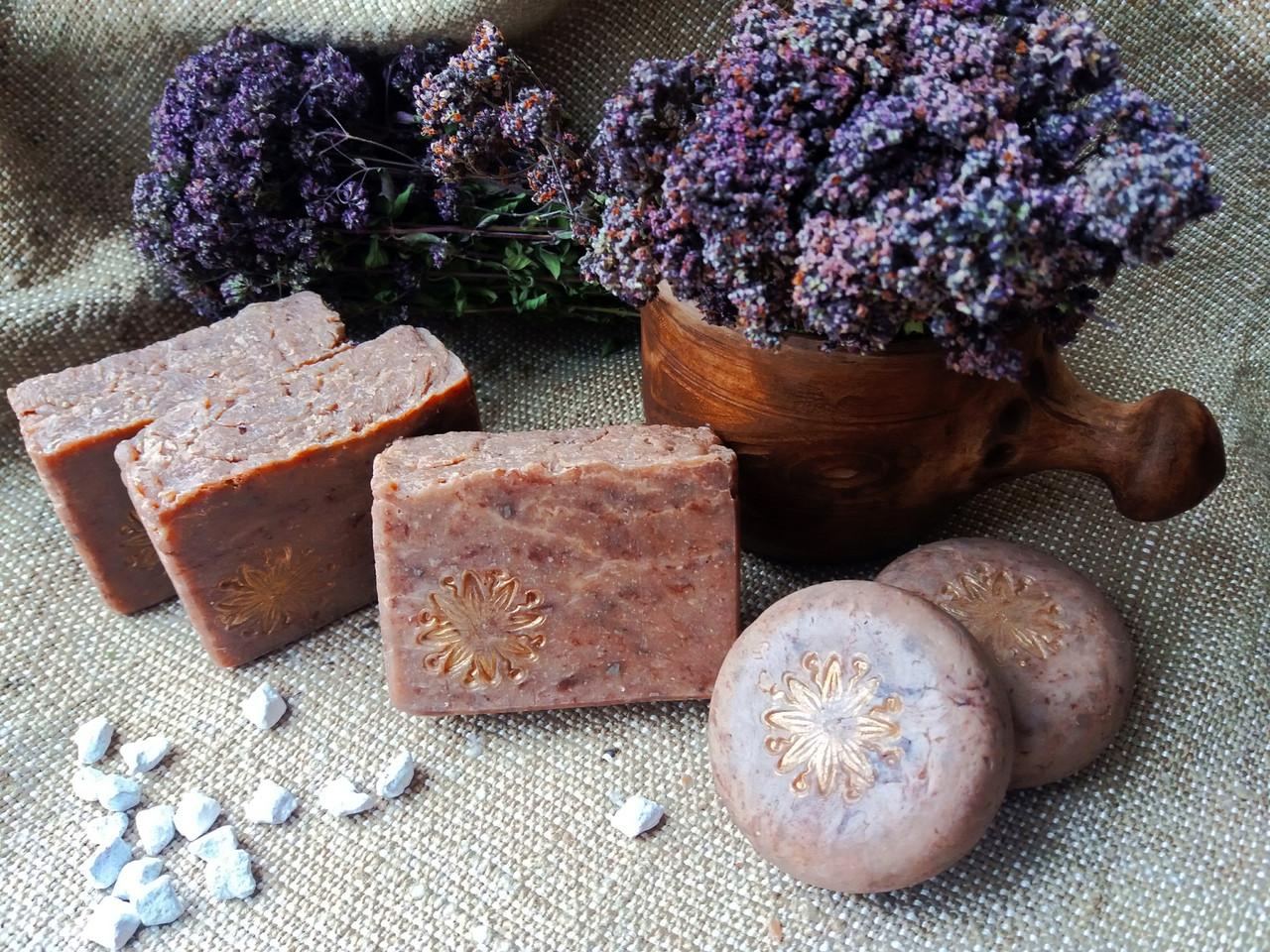 Натуральное мыло ручной работы  «Золото скифов» с кедром и ладаном - 1 кг