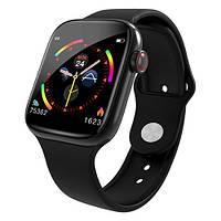 Фитнес браслет Apple band W4 black смарт часы