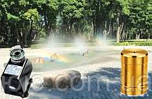 Насос для фонтана с подсветкой и насадкой Туман