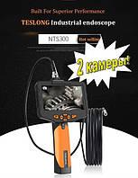 Эндоскоп TESLONG NTS300  1м 8 мм бороскоп видеоскоп  цифровой две камеры