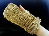 Мочалка- рукавичка для тела из джута, фото 3