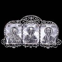 Икона GS в автомобиль из серебра