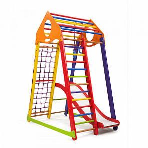 Детский спортивный комплекс BambinoWood Color Plus 1 SportBaby, фото 2