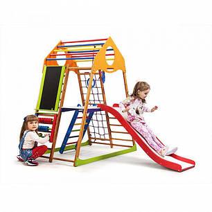 Детский спортивный комплекс KindWood Color Plus 3  SportBaby, фото 2