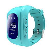 Детские смарт часы телефон Smart Baby watch Q50-2 синие, с GPS трекером