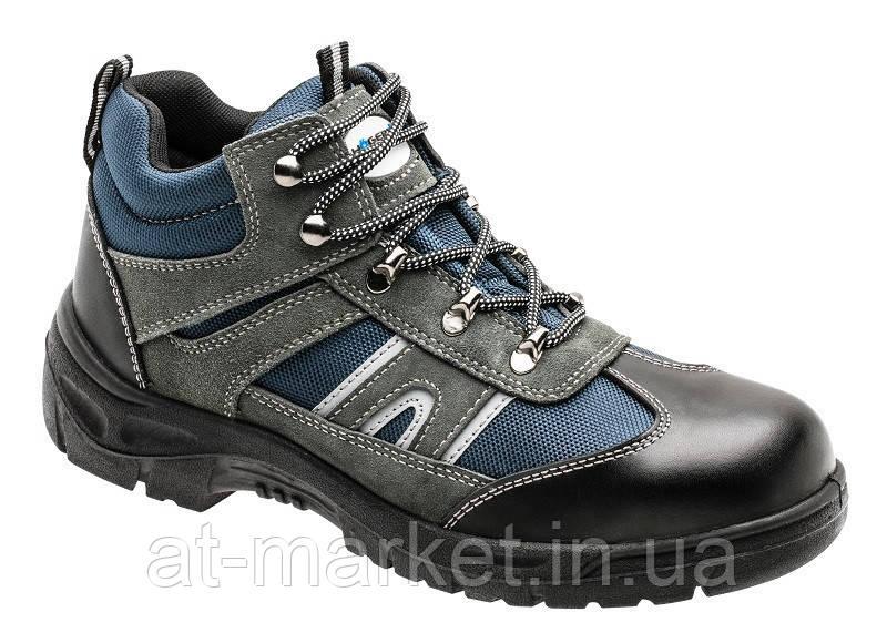 Ботинки рабочие, металл, защита от прокола, спорт, размер 40 HOEGERT HT5K512-40