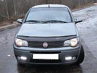 Дефлектор капота, мухобойка Fiat ALBEA c 2007 г.в. VIP