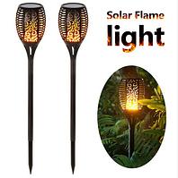 Садовый светильник на солнечной батарее Факел