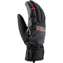 Гірськолижні рукавиці Viking Toro чорний-червоний   розмір - 7,8,9