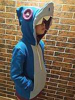 Толстовка  shark (акула)