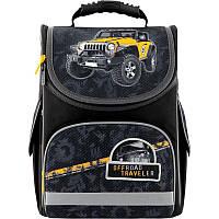 Рюкзак школьный каркасный ортопедический Kite Education 501 Off-road, для мальчиков, черный (K20-501S-1)