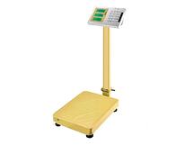 Весы электронные торговые BITEK 300кг с усил. платф. и мет. кнопками 42х52см Gold 2шт YZ-909B-G5S-300KG-4252