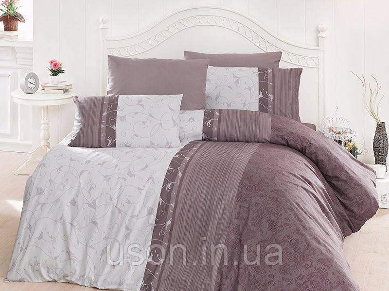 Комплект постельного белья TM First Choice ранфорс Pietra Lila