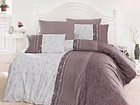 Комплект постельного белья TM First Choice ранфорс Pietra Lila Евро