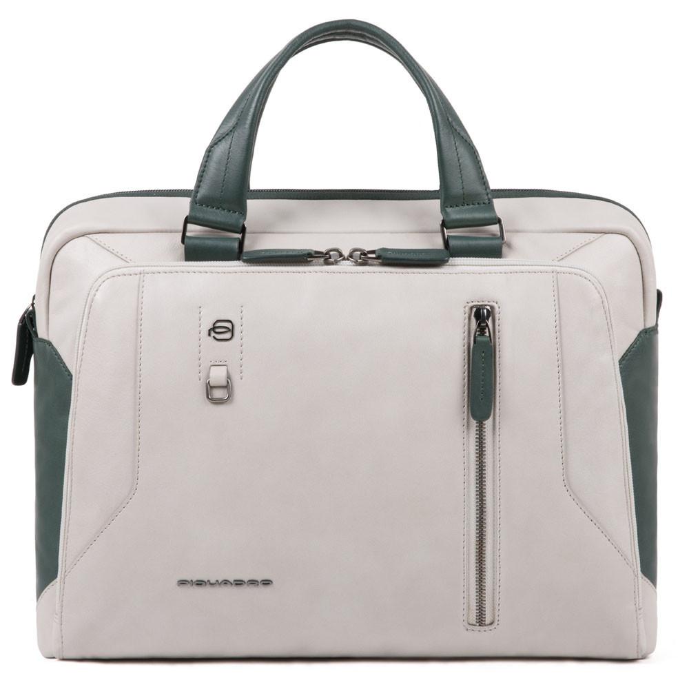 Мужской портфель Piquadro Hakone, серый