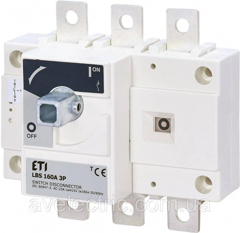 Выключатель нагрузки LBS 160 3P, ETI, 4661450