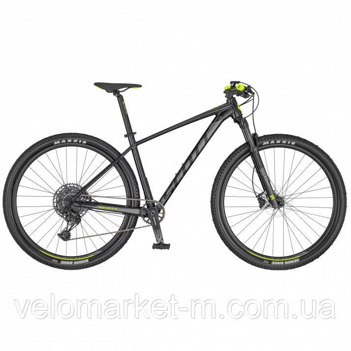 Велосипед Scott SCALE 970 M чорно/жовтий 2020