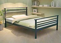 Кровать металлическая LEX-1 Метакам. Металева кровать Loft