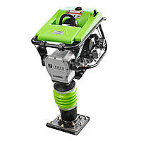 Виброплита бензиновая (вибронога) Zipper ZI-RAM80C (80 Кг, 10кН, 6,5 л.с,)
