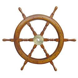 Морской сувенир штурвал, Sea Club d-75 см. (1184.V)