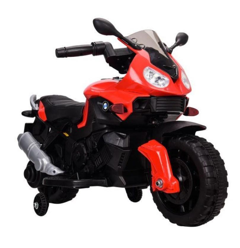 Детский мотоцикл T-7219/1 RED BMW, красный