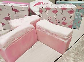 Мыло ручной работы Розовый фламинго