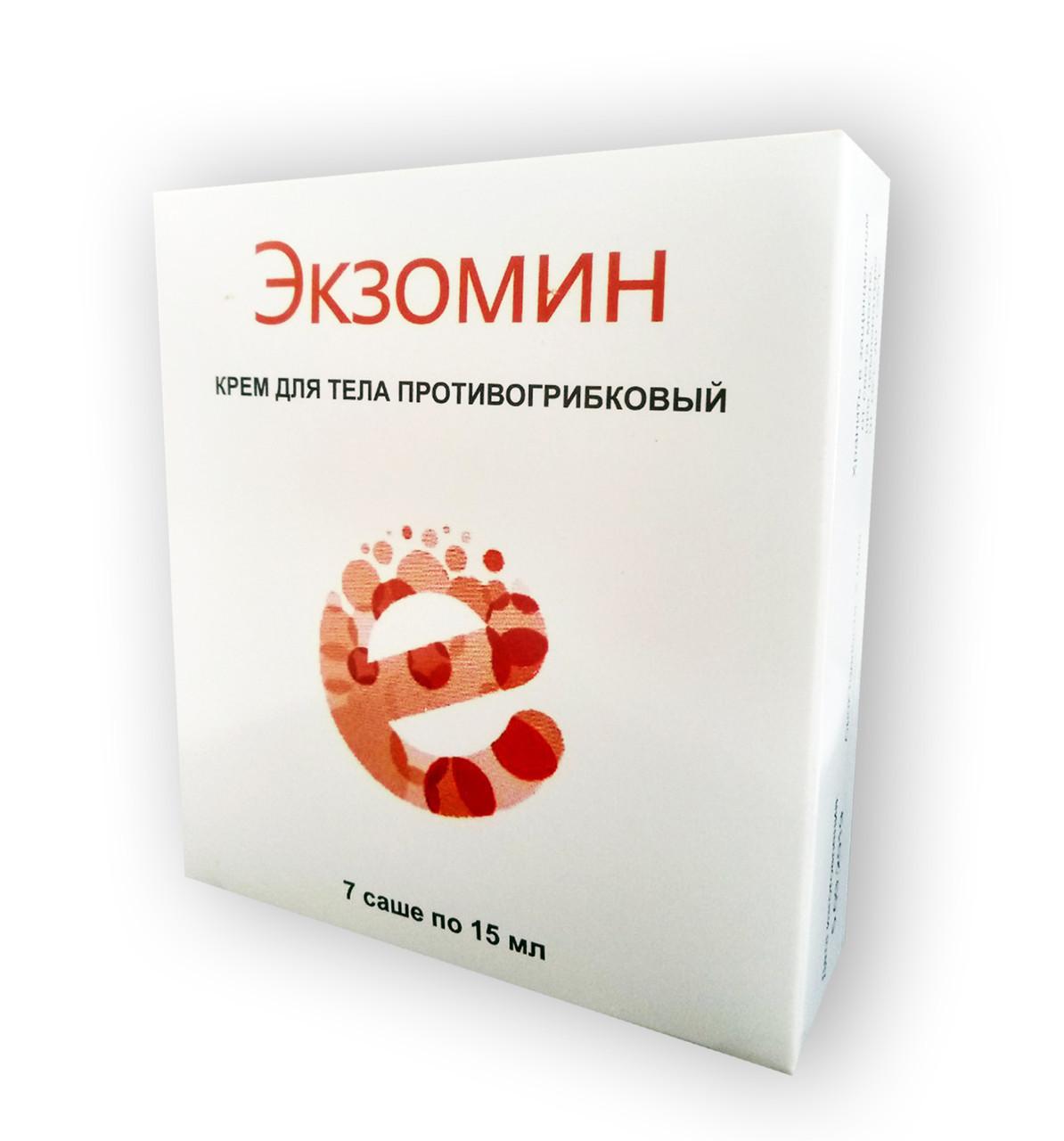 Крем от грибка Экзомин (7 саше*15 мл)