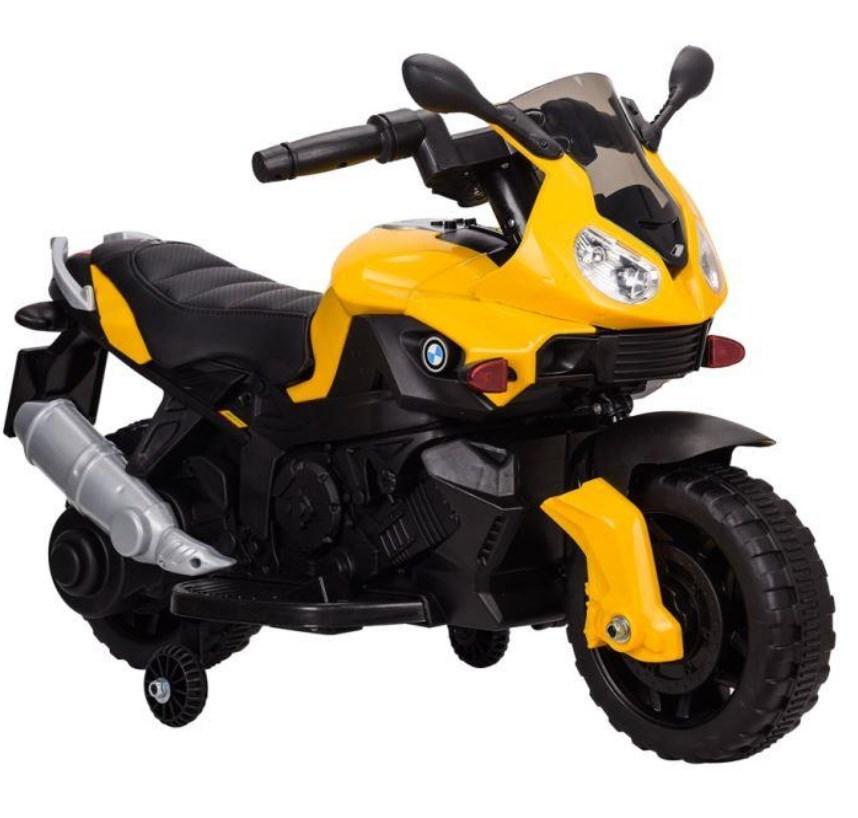 Детский мотоцикл T-7219/1 yellow BMW, желтый