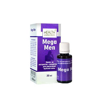 Mega Men - капли для потенции