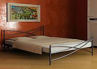 Кровать металлическая LIANA-1 Метакам. Металева кровать Loft