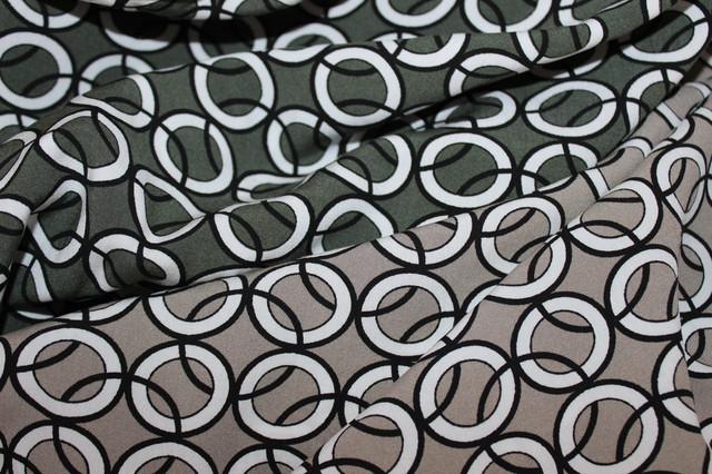 Натуральна тканина штапель стрейч, палірована нитка, підвищеної щільності
