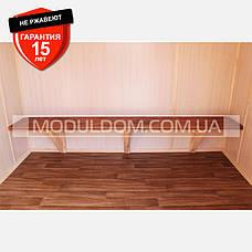 Раздевалка мобильная с душевыми и санузлом (13 х 2.4 м.), на основе цельно-сварного металлокаркаса., фото 3