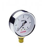 Манометр радиальный 0-6 bar Koer KM.610R D=63 мм 1/4''