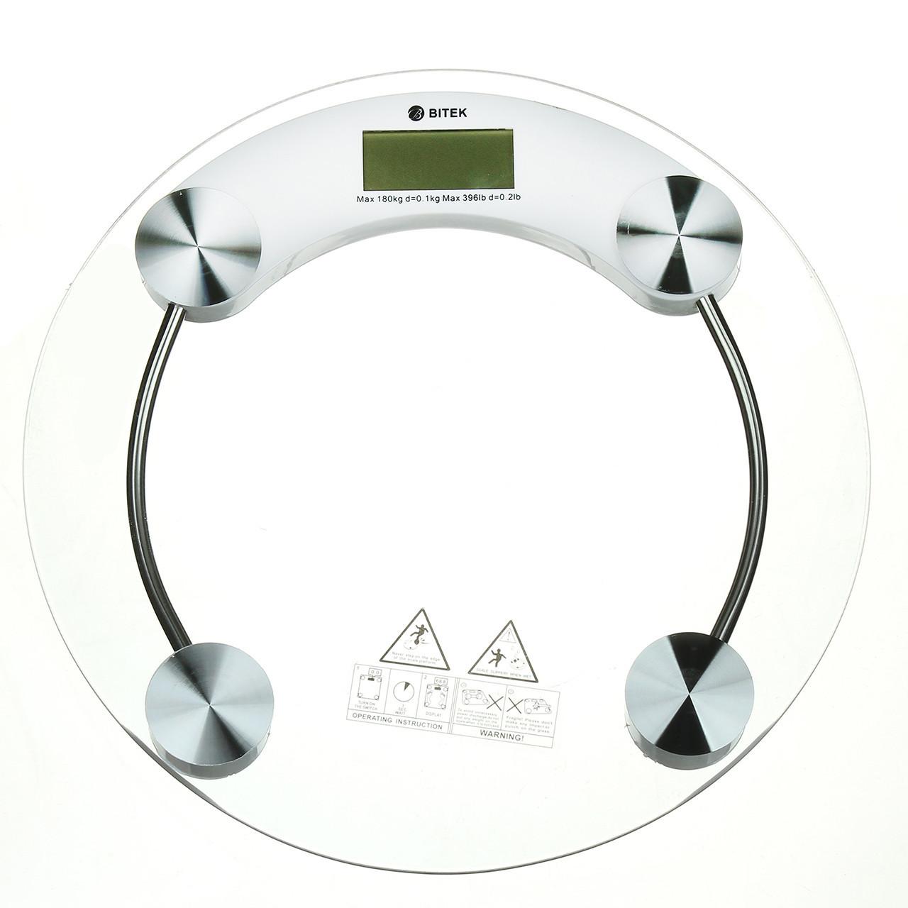 Весы напольные 180 кг датчик температуры