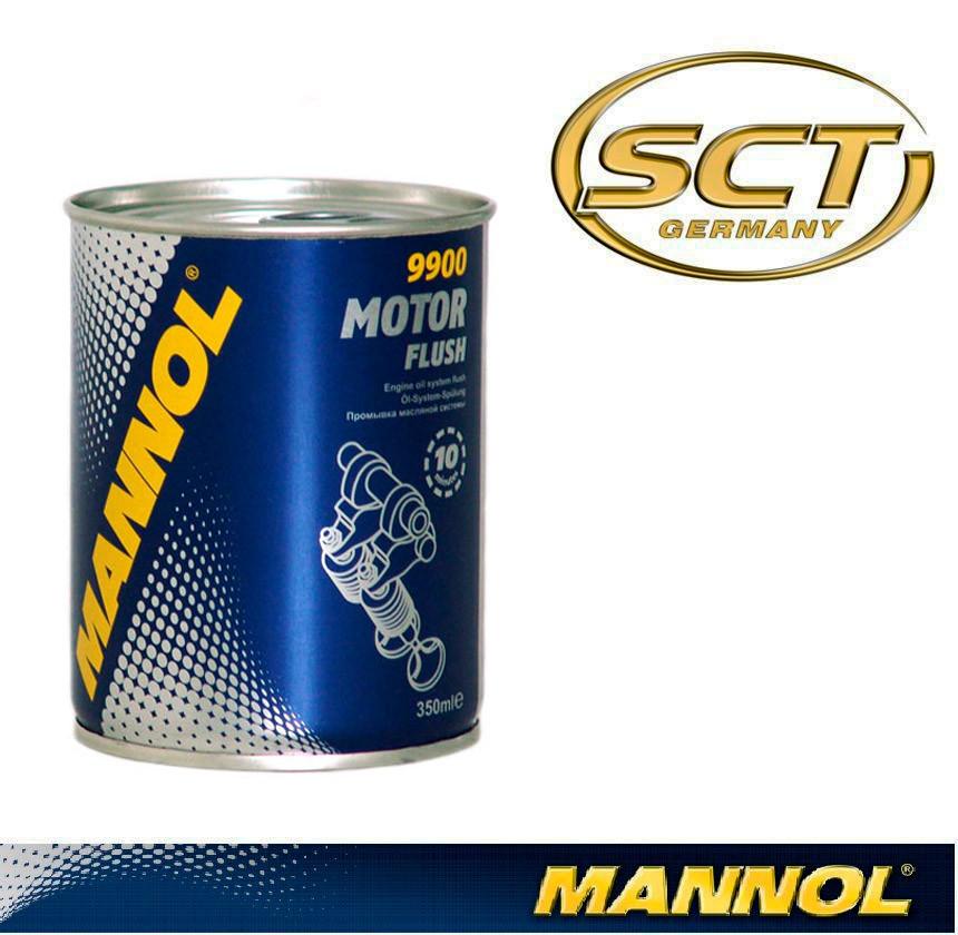 Промывка масляной системы Mannol 9900 Motor Flush 350ml
