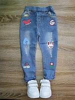 Детские джинсы для девочки р 98