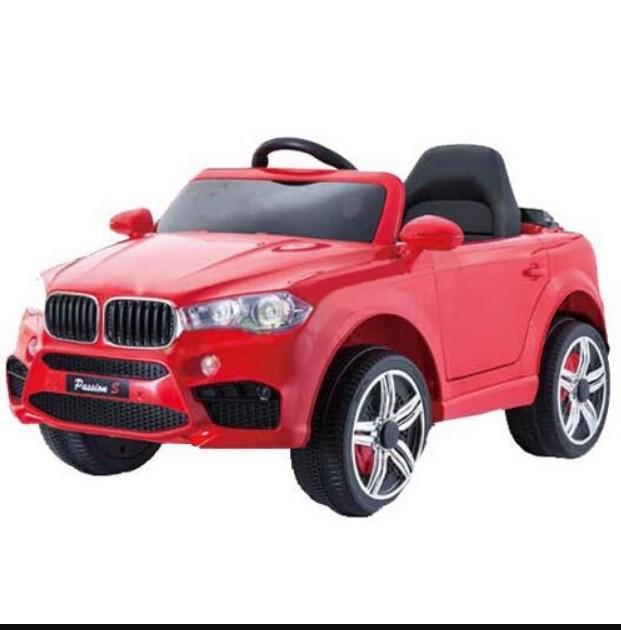 Детский электромобиль T-7830 RED джип, BMW, красный
