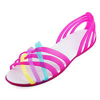 Яркие босоножки 37 (23 см.) сандалии, лодочки, мыльницы, летние туфли, летняя обувь крокс босоніжки сандалі