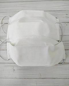 Набор мужских нестерильных масок медицинских в ассортименте Двуслойная 100% хлопок