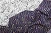 Темно синій .Натуральна тканина штапель стрейч, палірована нитка, підвищеної щільності №198