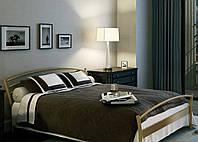 Кровать металлическая MARKO-1 Метакам. Металева кровать Loft