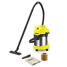 Пылесос хозяйстве Karcher WD 3 Premium (1.629-863.0) (для сухой уборки и сбора воды + функция выдува)