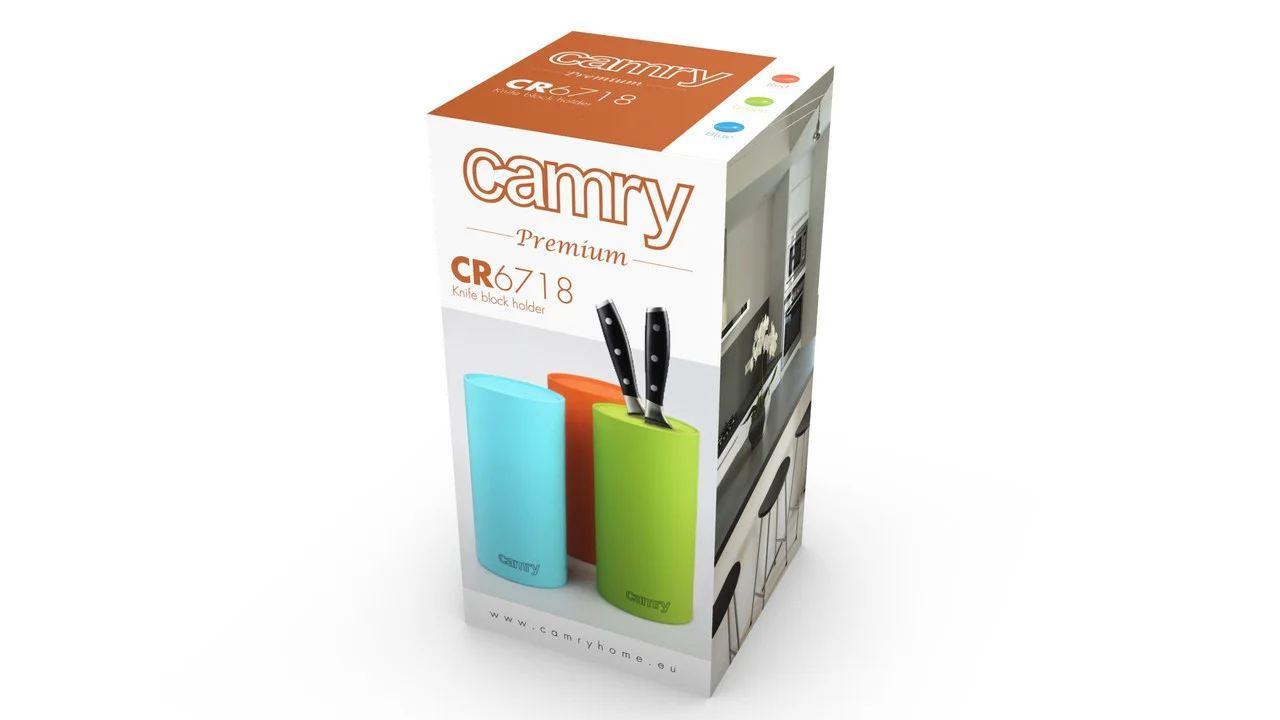 Подставка для ножей Camry CR 6718 green
