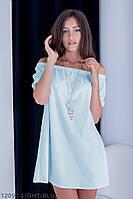 Жіноче плаття Подіум Berries 12097-LIGHT/BLUE XXL Голубий