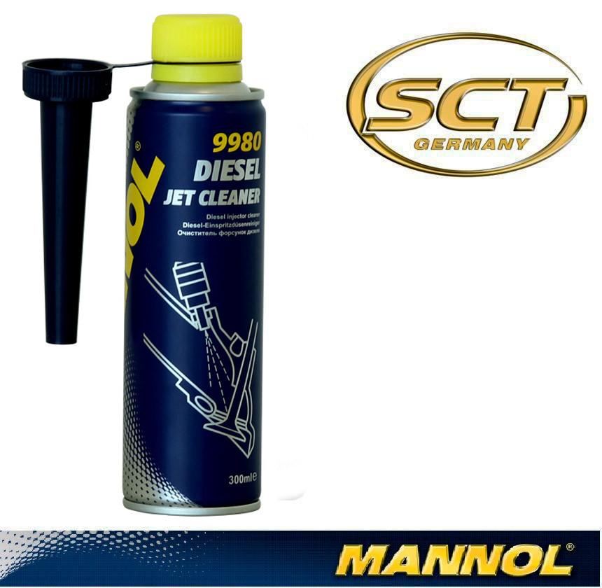 Очиститель дизельных форсунок Mannol 9980 Diesel Jet Cleaner 300ml