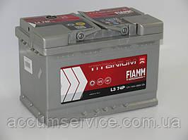 Акумулятор FIAMM TITANIUM PRO L3 74P