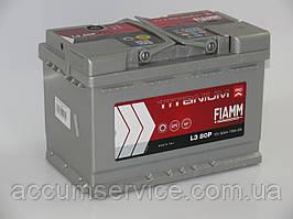 Акумулятор FIAMM TITANIUM PRO L3 80P
